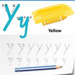 Letter Y Tracing Alphabet Worksheets
