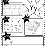Letter Y Worksheet: Tracing, Coloring, Writing & More