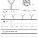 Letter Y Worksheets | Printable Worksheets And Activities