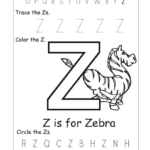 Letter Z Worksheets | Preschool Letters, Reading Worksheets