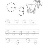 Letters Worksheets For Preschoolers Letter G Worksheets