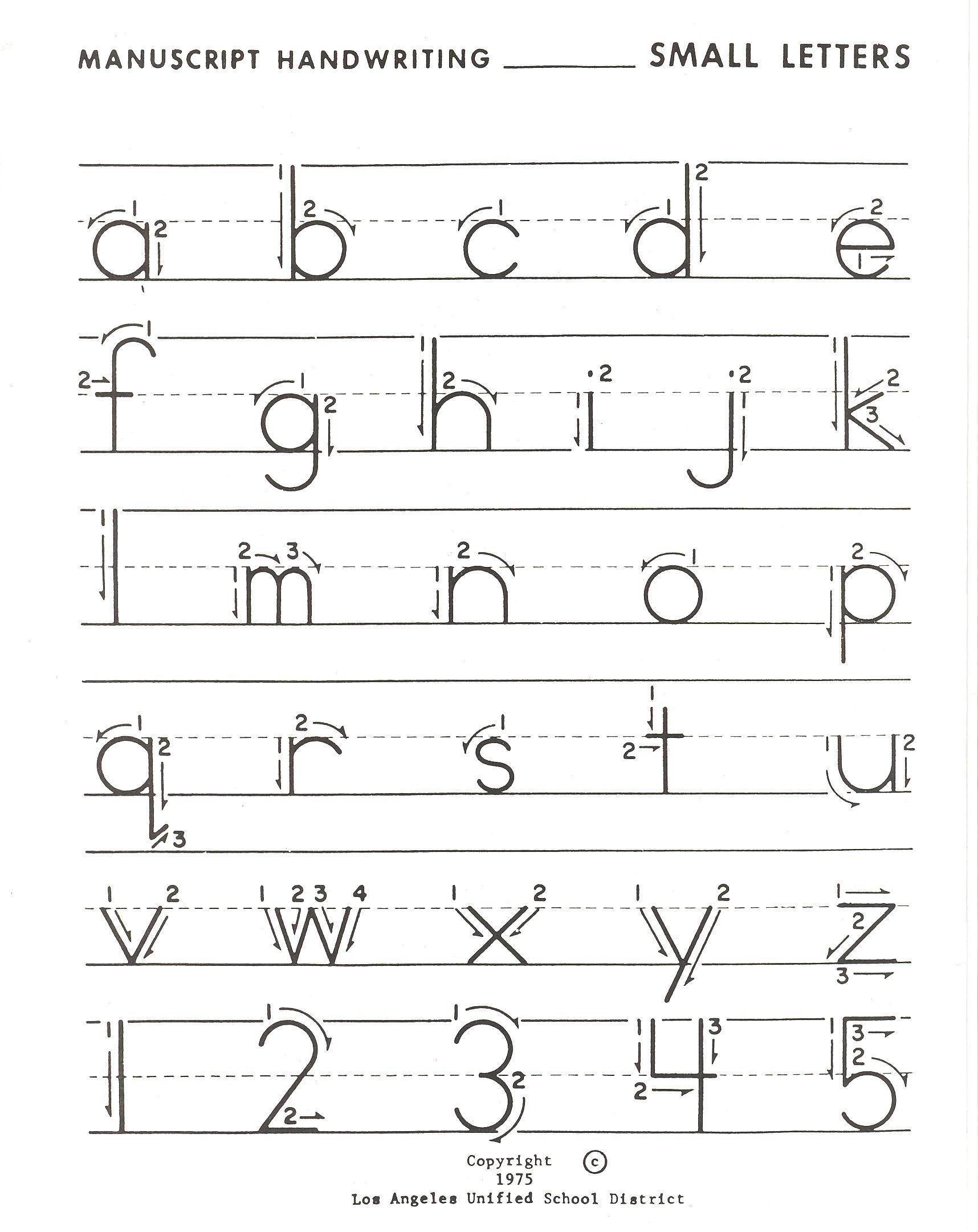Lowercase Letter Practice | Writing Worksheets Kindergarten