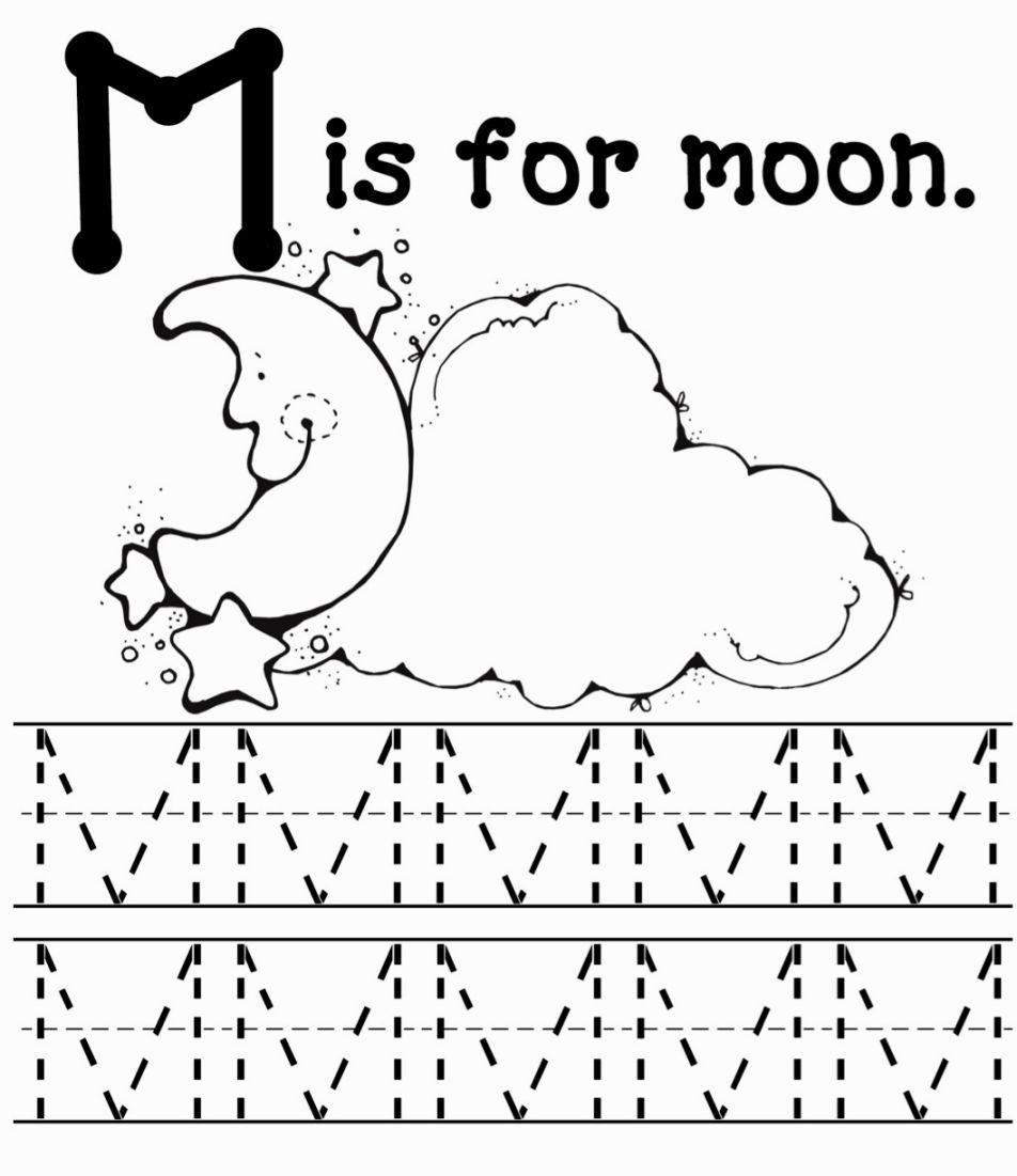 M Coloring Sheets | Letter M Worksheets, Preschool Letter M
