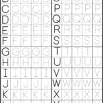 Make A Printable Alphabet Letter Tracing Worksheets | Letter