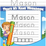Mason Letter Tracing For Kids | Kindergarten Practice