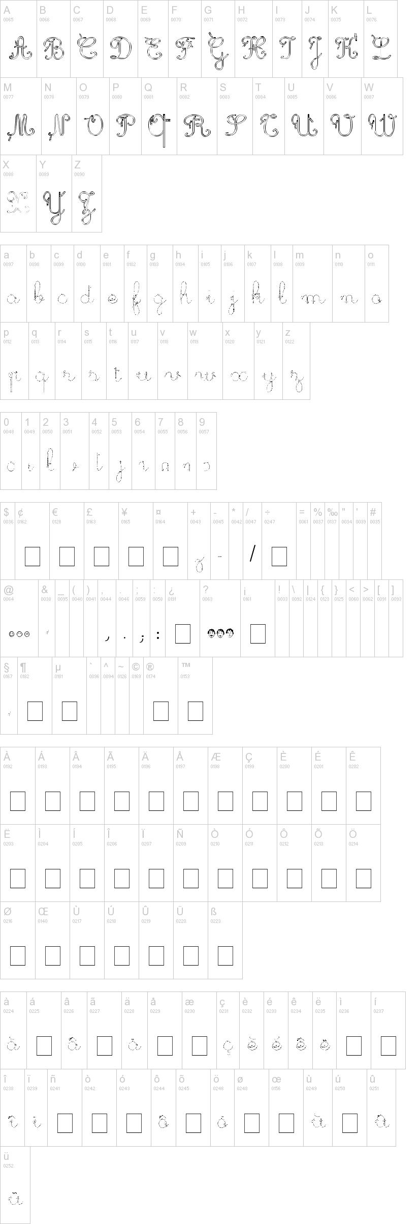 Maternellecolor Trace Cursive Font | Dafont