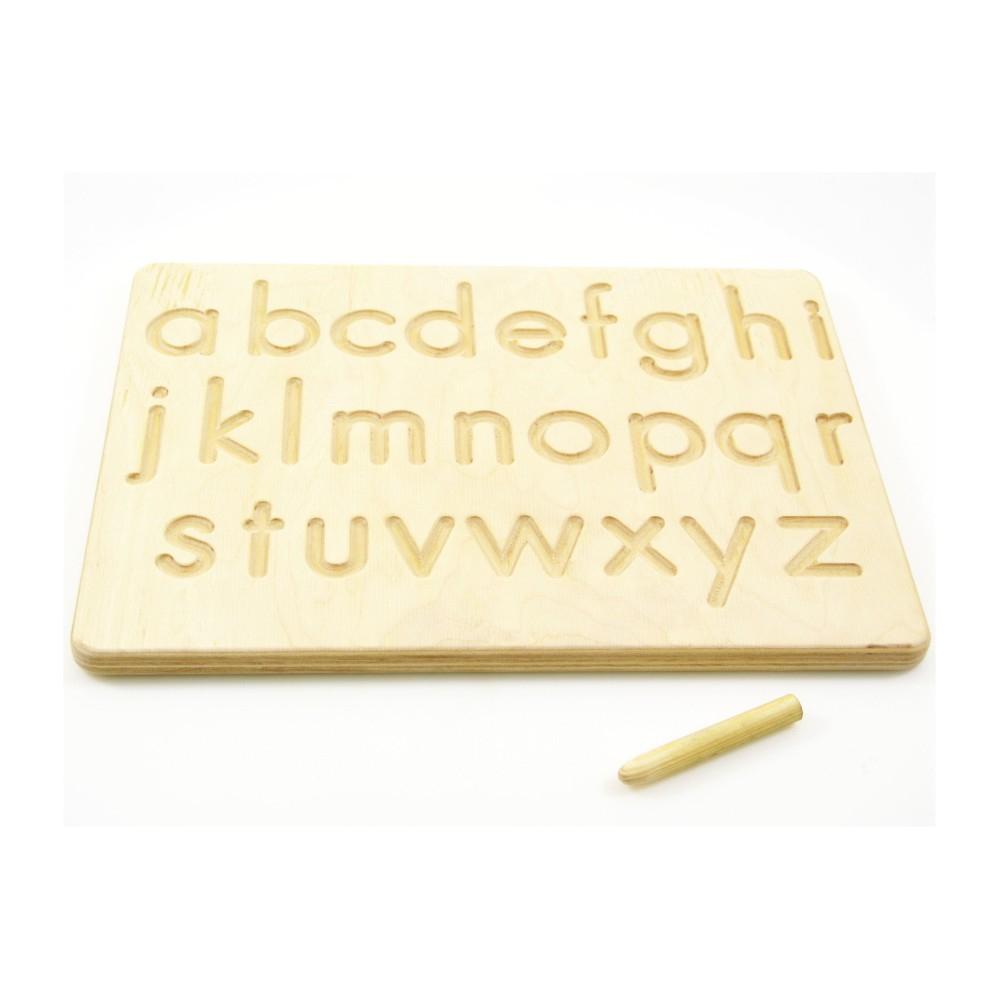 Montessori Toy - Alphabet Tracing Board | Indigovento