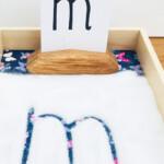 Montessori Writing Tray - Learning Fun - Mas & Pas