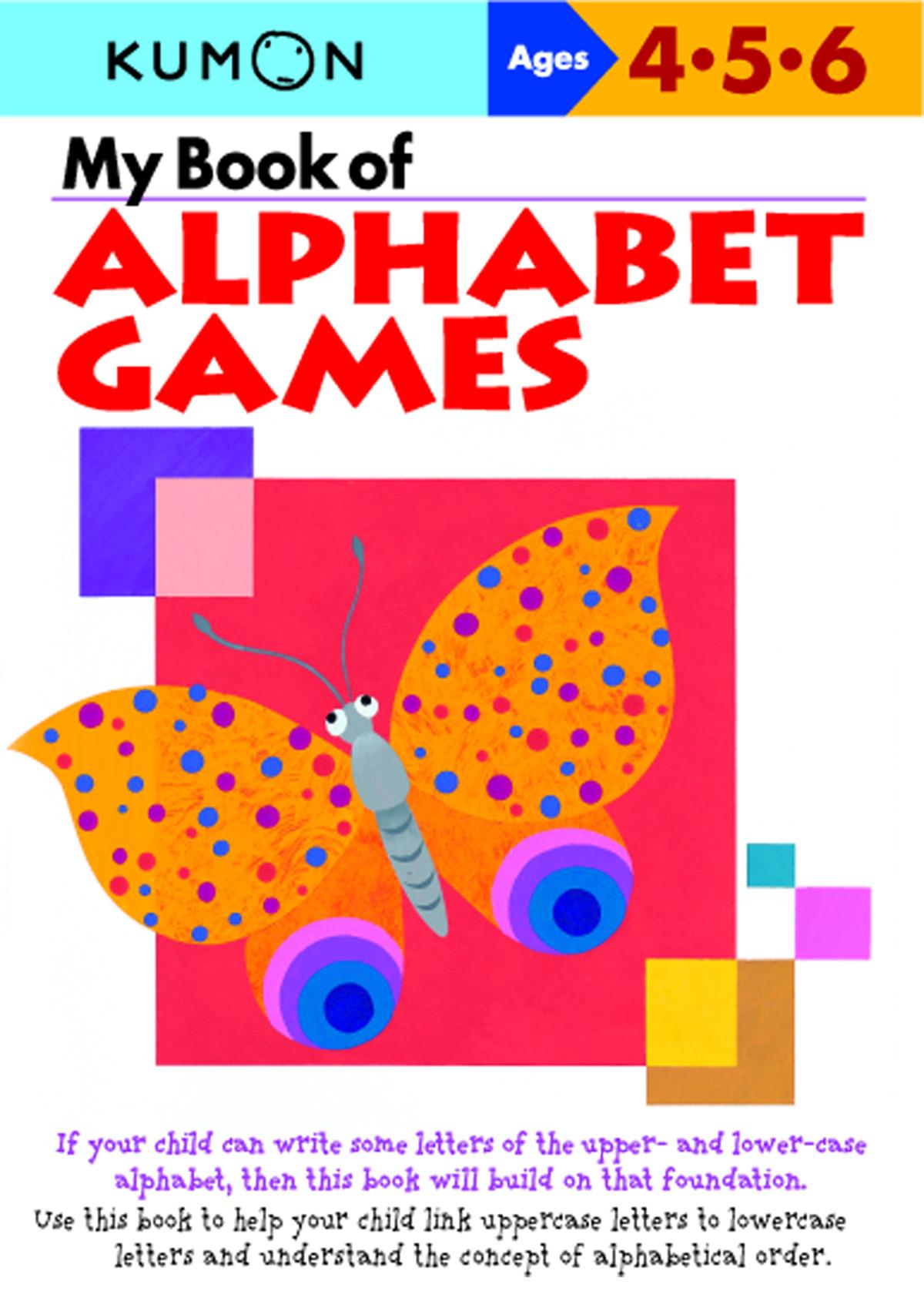 My Book Of Alphabet Games | Kumon Publishing