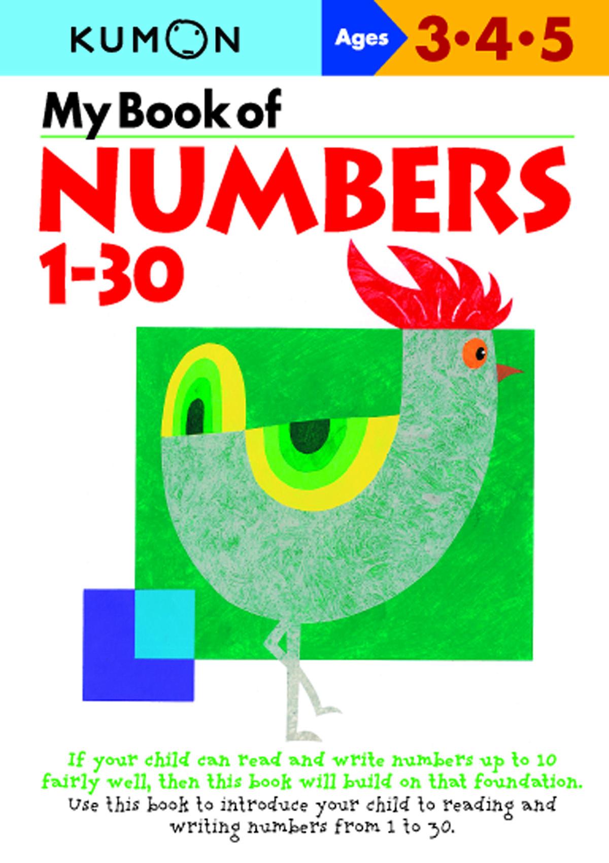 My Book Of Numbers 1-30 | Kumon Publishing