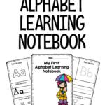 My First Alphabet Notebook Letters Preschool Worksheets