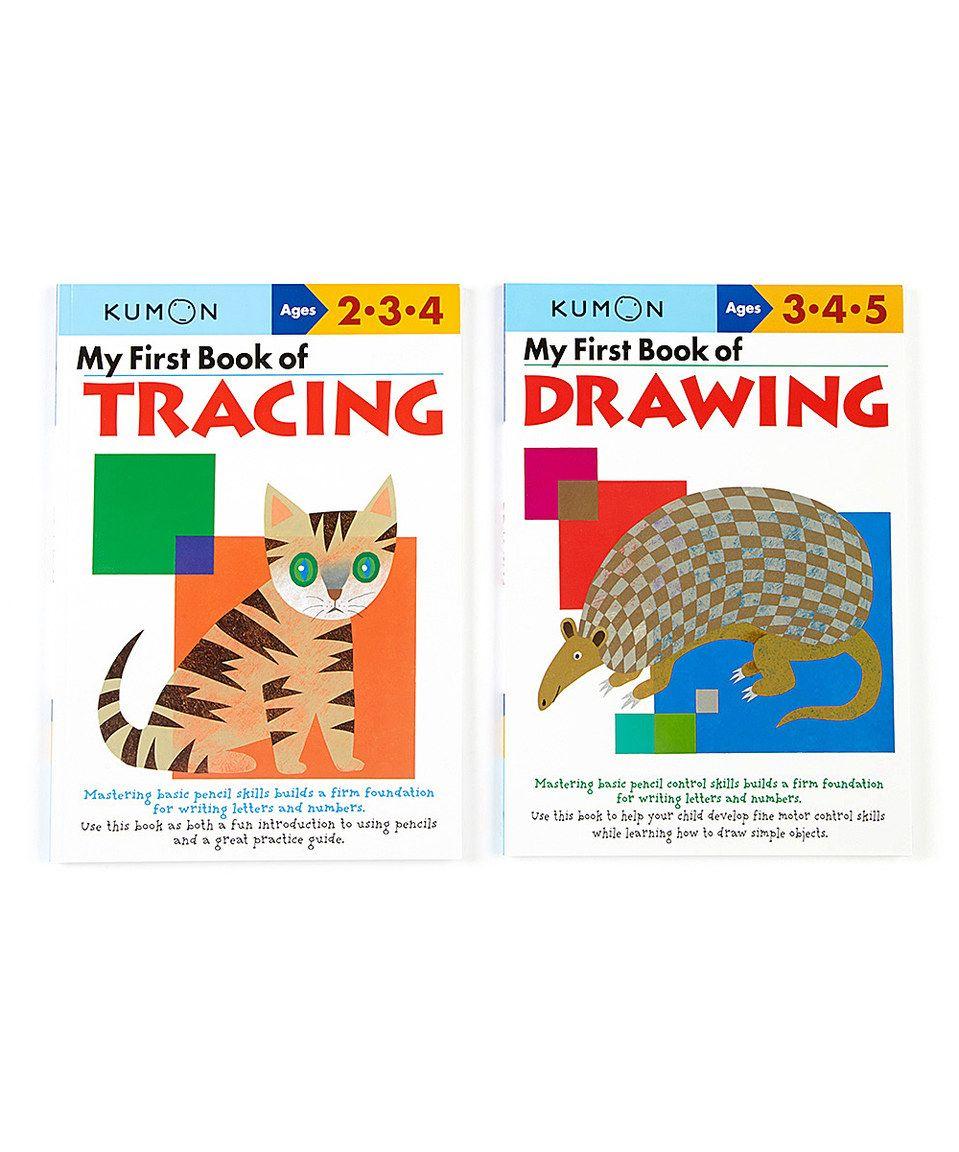 My First Book Of Drawing & Tracing Workbook Setkumon