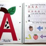 My First Interactive Notebook! | Interactive Alphabet