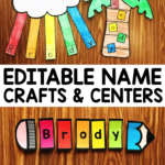 Name Crafts & Name Centers - Simply Kinder