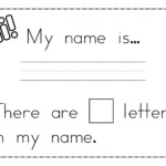 Name Trace Worksheets Printable | Activity Shelter