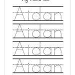 Name Tracer Worksheets | Name Tracing Worksheets, Tracing