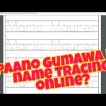 Name Tracing For Kids - Youtube