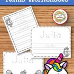 Name Tracing Handwriting Worksheet | Personalized Name