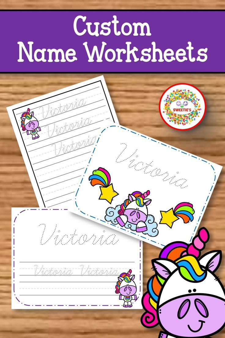 Name Tracing Handwriting Worksheet | Personalized Name