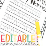 Name Writing Practice - Handwriting Freebie | Name Writing