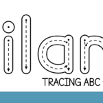 Nilam Tracing Abc Font - Free For Personal