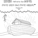 Noah's Ark Activity Book For Beginners – Bible Pathway
