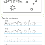 Nsw Foundation Style Handwriting Alphabet Practice