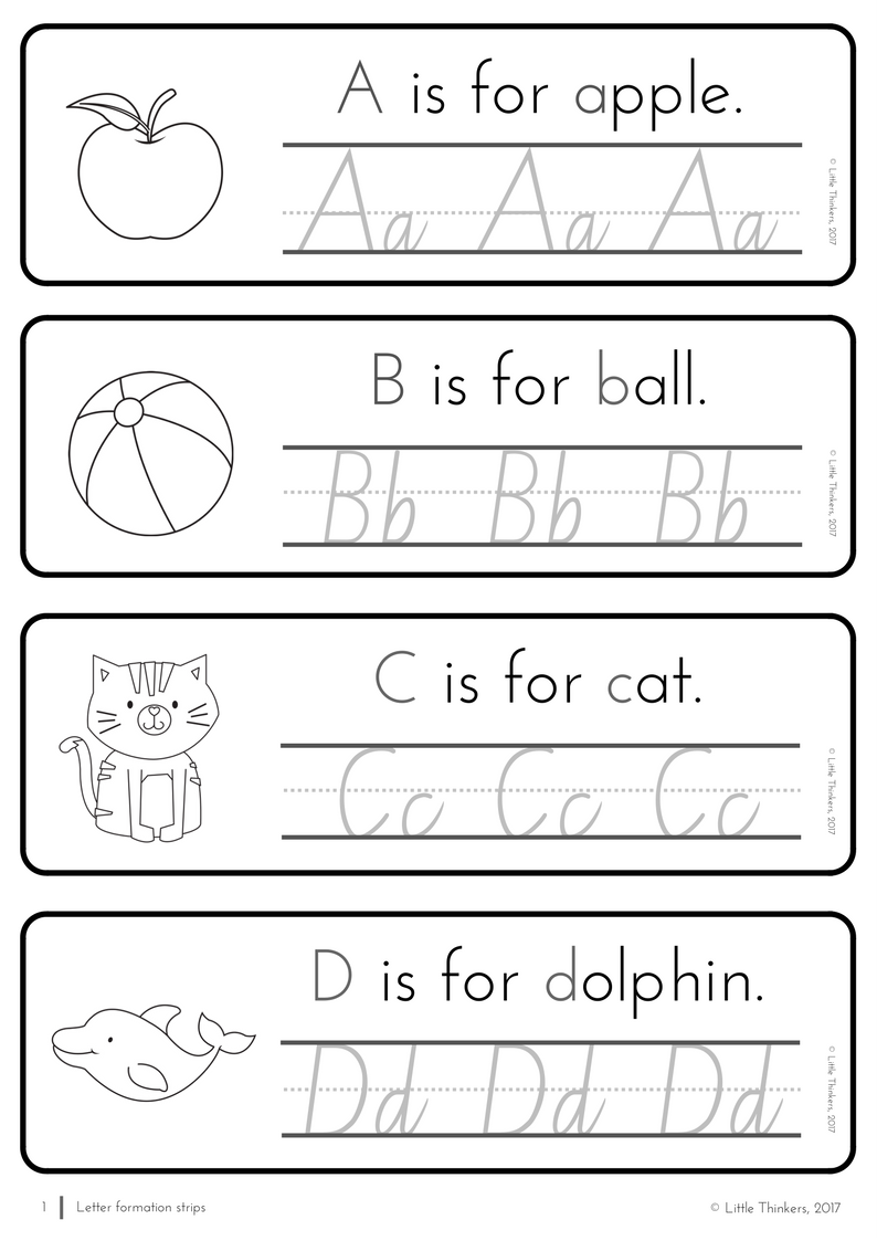 Nsw Linked Cursive Practice Strips | Handwriting Practice
