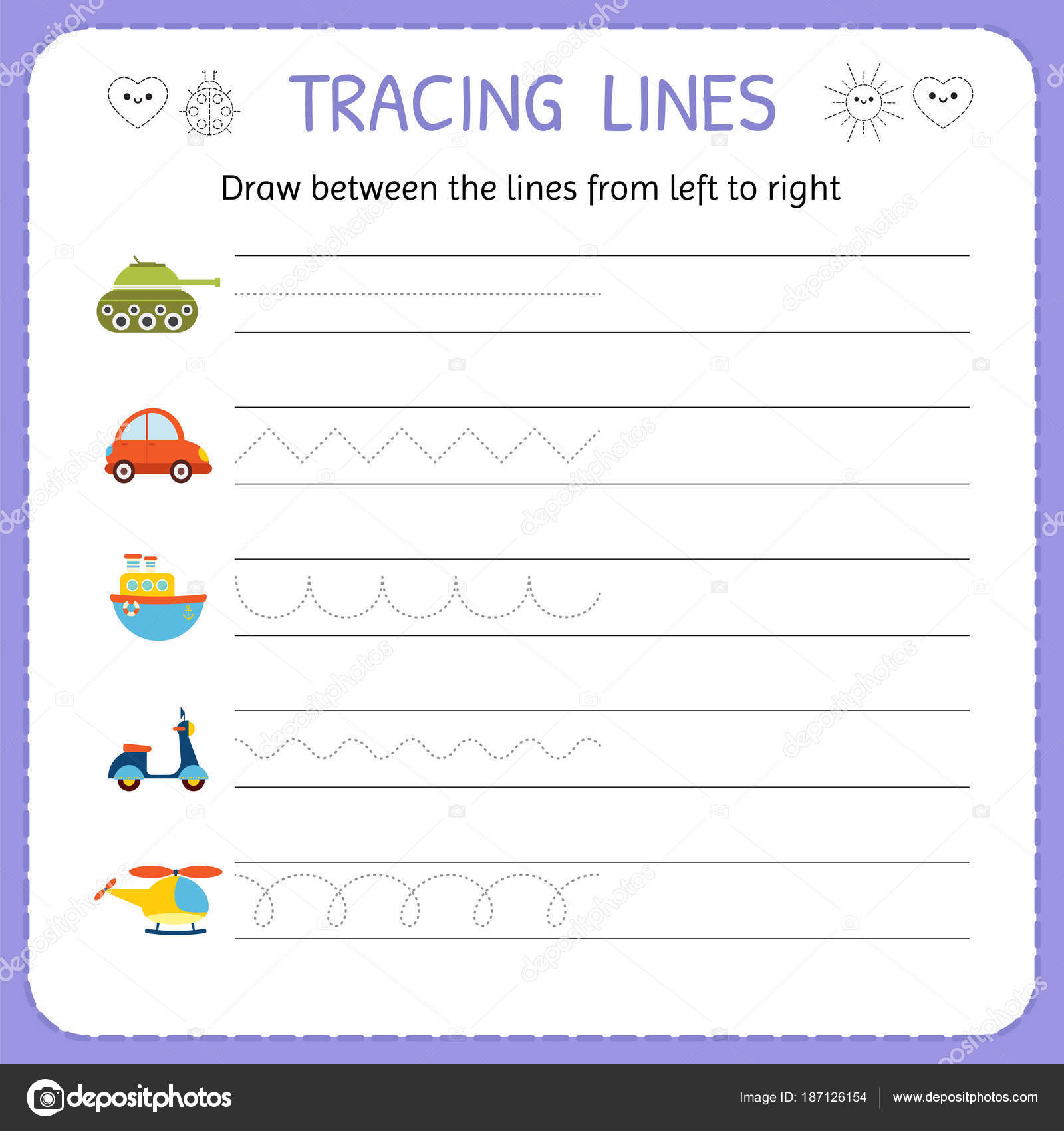 Nu Tracing Worksheet | Printable Worksheets And Activities