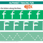 Number & Letters Tracing Mats Standard Print