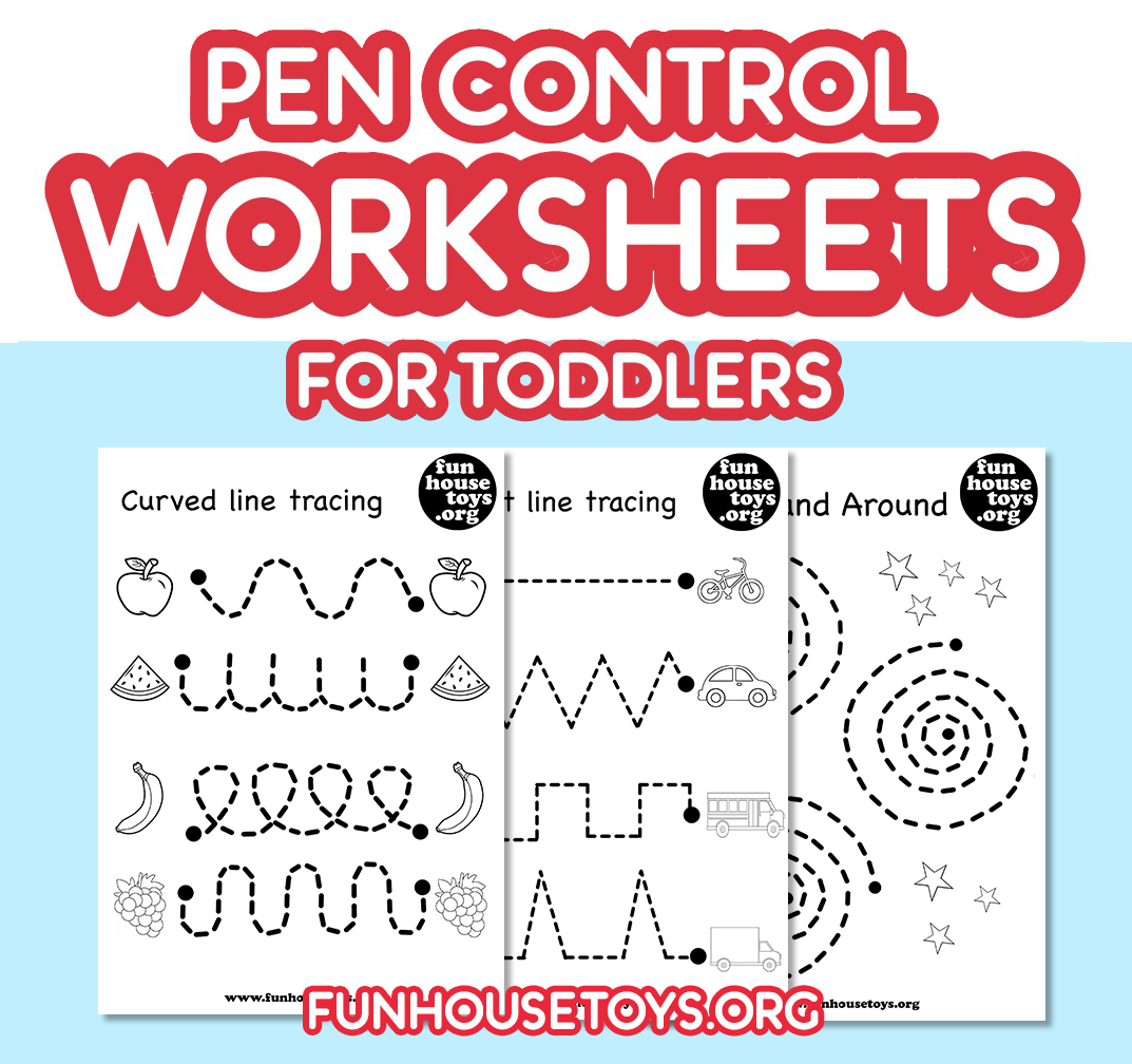 Our Pen Control And Tracing Printables Are A Fun Way To