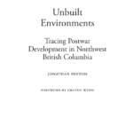 Pdf) Unbuilt Environments: Tracing Postwar Development In