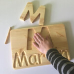 Personalized Name Tracing Board | Traditional Toys
