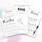 Personalized Preschool Name Recognition And Writing Practice