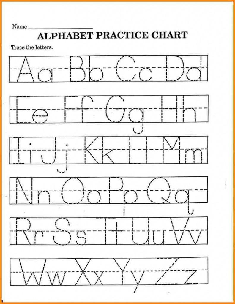Pre K Printable Math Worksheets In 2020   Printable Alphabet