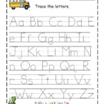 Pre K Tracing Worksheets Printable K Tracing Worksheets Free