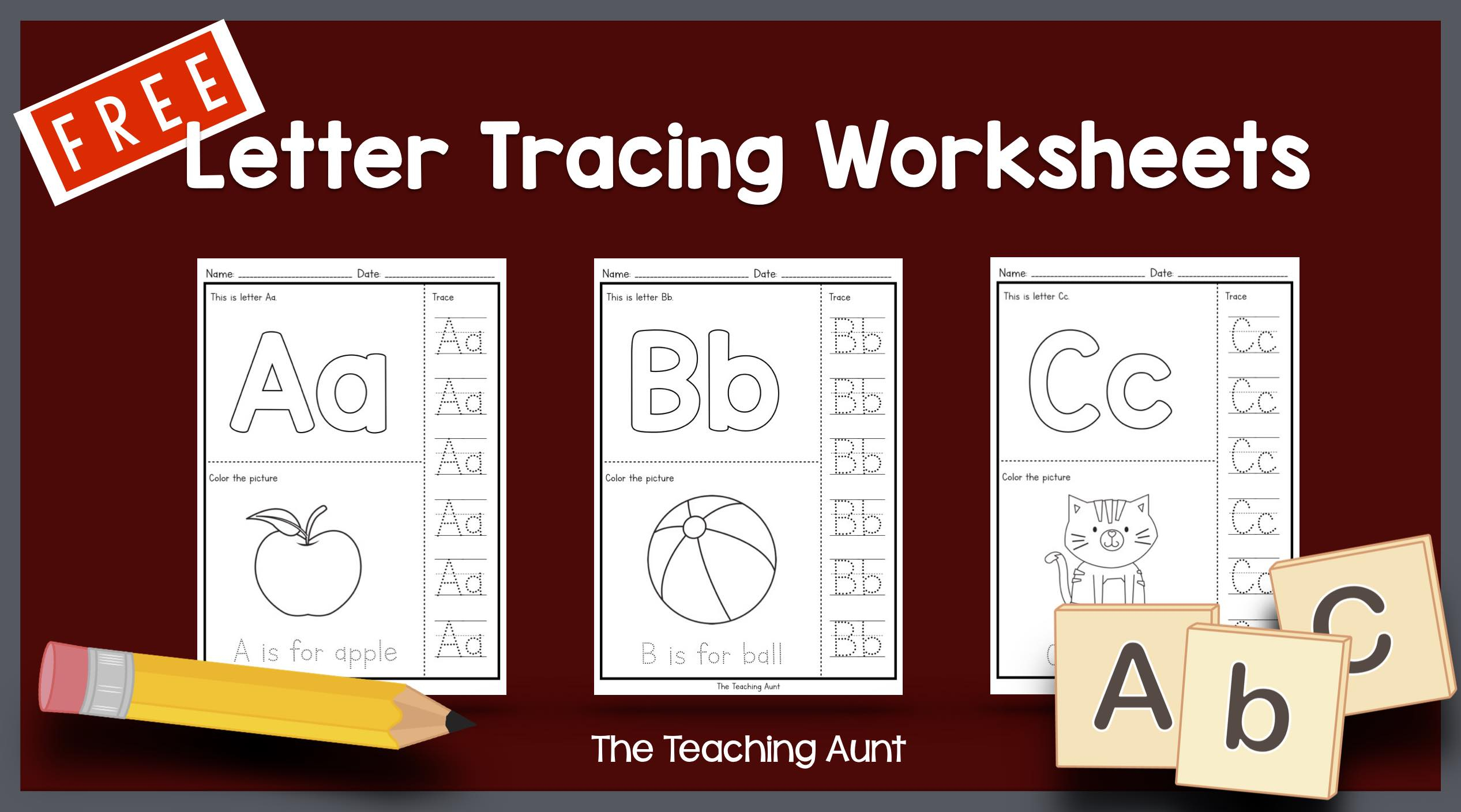 Preschool Alphabet Tracing Worksheets Pdf Worksheet Letter A