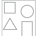 Preschool Drawing Shapes Worksheets - Clover Hatunisi