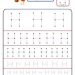 Preschool Letter Tracing Worksheet - Letter H Different