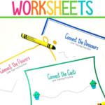 Preschool Line Tracing Worksheets - Mama Teaches