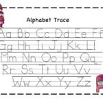 Preschool Printables: Valentine | Alphabet Tracing