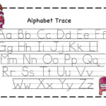 Preschool Printables: Valentine | Alphabet Tracing