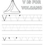 Preschool Worksheets With The Letter V - Clover Hatunisi