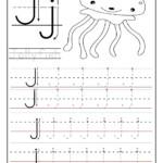 Printable Letter J Tracing Worksheets For Preschool (Med