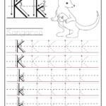 Printable Letter K Tracing Worksheets For Preschool