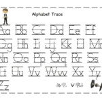 Printable Letters To Trace | Alphabet Tracing, Preschool