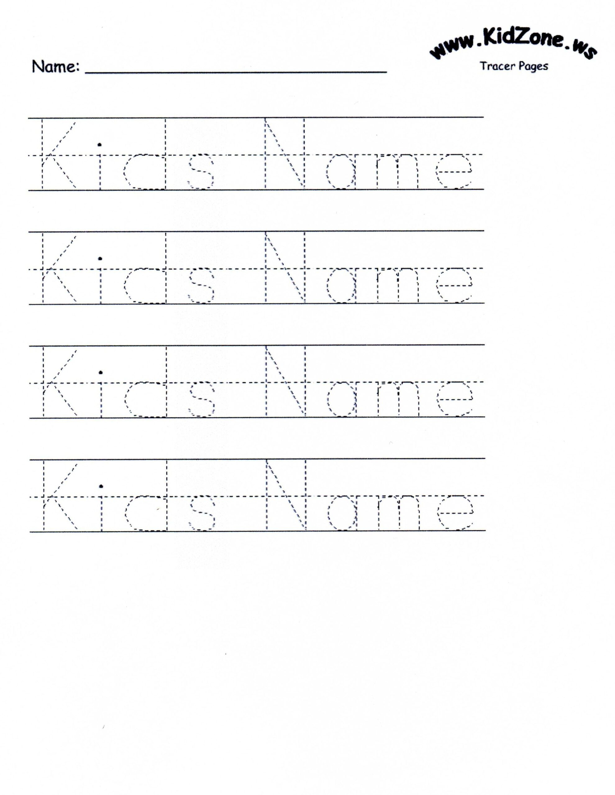 Printable Name Tracing For Preschool Worksheet Letter R