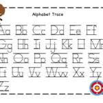 Printable Traceable Alphabet Letters | Activity Shelter