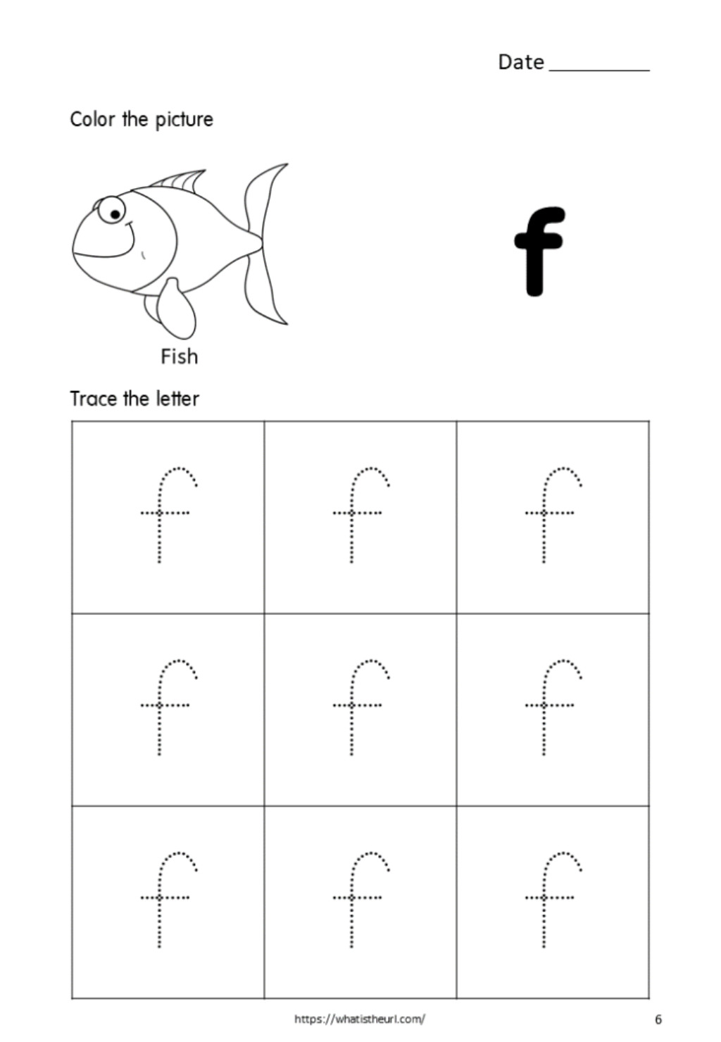 Printable-Tracing-Letters-Small-Letter-F-For-Kids - Your