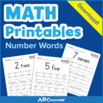 Printables: Number Words - Learn@home Learn@home